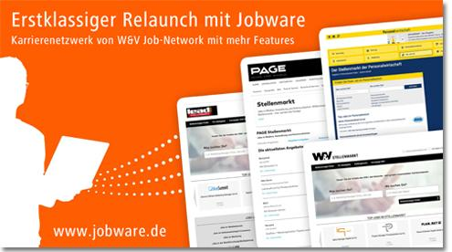 Relaunch mit Jobware