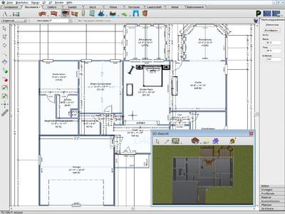 Komfortable 3d planung f r haus garten und wohnung mit for Wohnungseinrichtung planer