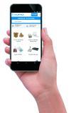 Der mobile Webshop rajapack.de ermöglicht es auch unterwegs Produkte aus der Welt der Verpackung zu entdecken und Einkäufe zu tätigen.