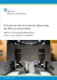 """Studie """"Ökologische und ökonomische Bewertung des Ressourcenaufwands - Additive Fertigungstechnologien in der industriellen Produktion"""" / (c) VDI ZRE"""