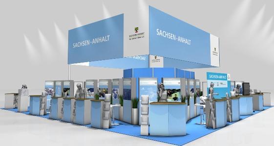 Investitions  und Marketinggesellschaft Sachsen Anhalt auf der Hannover Messe 2013.