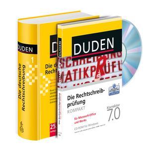 """Geballte Deutschkompetenz zum unschlagbaren Preis: Das neue Medienpaket von Duden ist da! / Die neue """"Rechtschreibprüfung kompakt 7.0"""" enthält den Duden-Thesaurus und unterstützt MS Office 2010"""