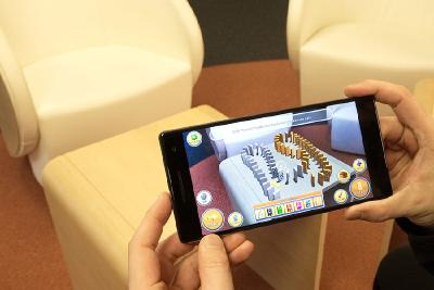 Augmented Reality auf dem Messestand: Die digitale Fabrik