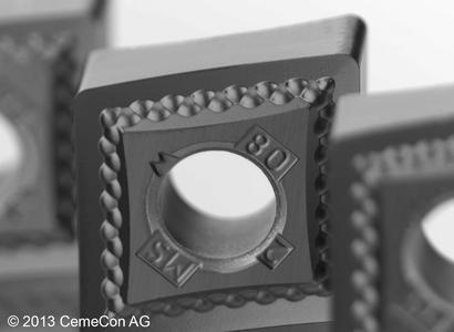 Den Schichtwerkstoff HPN1 bietet CemeCon nun auch in einer Zusammensetzung an, die Schichtdicken von 1,5 bis 8 µm erlaubt.