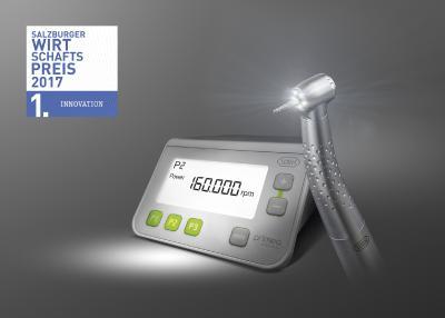 """W&H überzeugte in der Kategorie """"Innovation"""": Mit der Dentalturbine Primea Advanced Air sorgt das Unternehmen für eine mikromechanische Meisterleistung, die mehr Sicherheit während der Behandlung bietet und somit Patienten sowie Zahnärzten zugutekommt / Foto: Foto: W&H"""