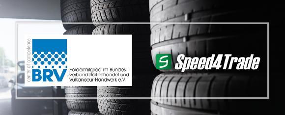 Speed4Trade will als neues BRV-Fördermitglied Reifenanbieter bei Digitalisierungsprojekten unterstützen