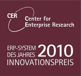 """Von der Jury des """"Center for Enterprise Research"""" (CER) bekam Sage den ERP-Innovationspreis"""