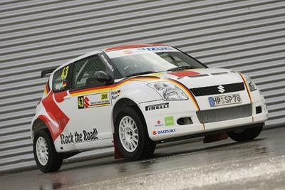 Beim deutschen WM-Lauf greift das Suzuki Rallye Junior Team Germany wieder im 225 PS-starken Swift Super 1600 an