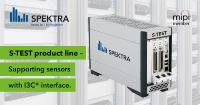 SPEKTRA S-TEST supports test of sensors with new I3C® interface