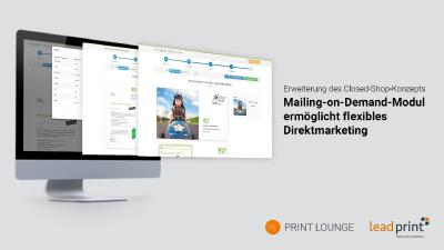 Lead-Prints innovatives Mailing-on-Demand-Modul ermöglicht flexibles Direktmarketing – eine Anleitung