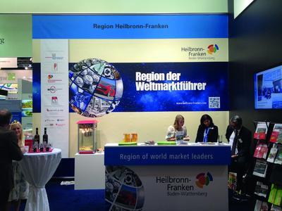 WHF Heilbronn Franken auf der Expo Real 2015 / Foto WHF GmbH