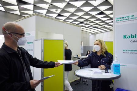 Impfzentrum Standort Behringwerke