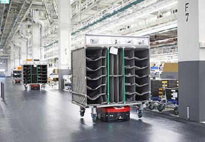 Ein intelligenter Schwarm für den Audi A8