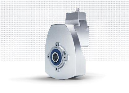 Der innovative Getriebemotor DuoDrive von NORD integriert den IE5+ Synchronmotor komplett in das Gehäuse eines einstufigen Stirnradgetriebes