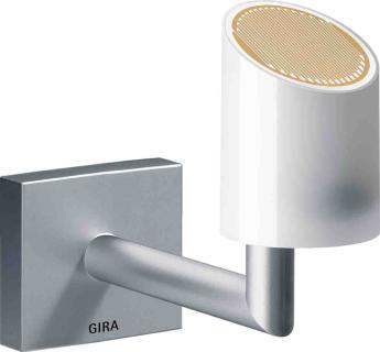 Gira KNX Wetterstation zur Messung und Auswertung von Windgeschwindigkeit, Niederschlag, Dämmerung und Temperatur / Bildrechte: Gira, Giersiepen GmbH & Co. KG