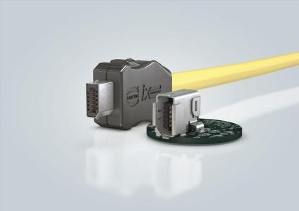 At SPS IPC Drives, the ix Industrial® connector will be available for viewing in two versions on the HARTING stand.