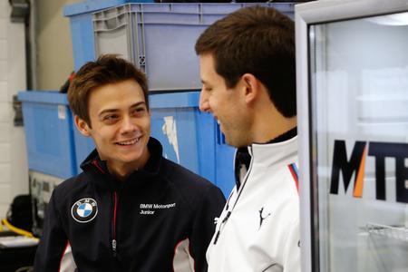 Louis Delétraz, Alexander Sims, DTM Young Driver Test, BMW Motorsport, Jerez de la Frontera