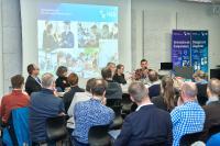 HSB-Lehrende berichteten von ihren eigenen Erfahrungen als Professorin und als Professor / Bild: Hochschule Bremen / Marcus Meyer