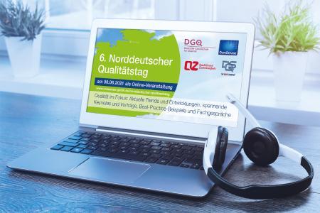 6. Norddeutscher Qualitätstag am 8. Juni 2021: Praxisforum für das Prozess- und Qualitätsmanagement