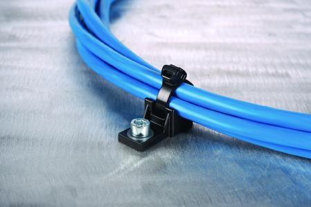 Kabelbinder mit dem smarten Kopf: Die X-Serie ist für Anwendungen mit geringem Verbauraum konzipiert