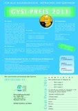 [PDF] Gysi Preis 2011 Teilnahmeformular