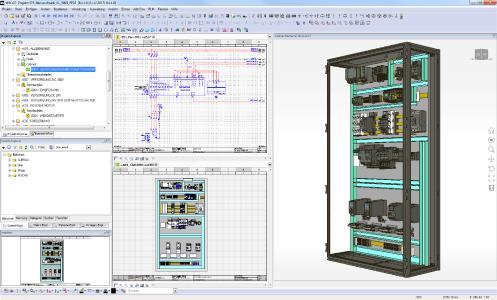 Mit der gewerkeübergreifenden WSCAD SUITE entwickeln und fertigen Schaltanlagenbauer Schaltschränke inklusive Fertigungssteuerung ohne weitere Zusatzkosten