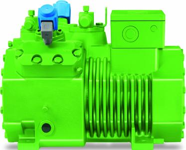 For supermarket applications, the ECOLINE reciprocating compressors can be configured as a cascaded system using R134a (for medium temperature applications) and CO2 (for low temperature applications).