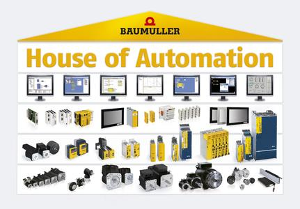 With an extensive portfolio of software from control engineering to complete drives, Baumüller is a comprehensive provider for the graphics industry