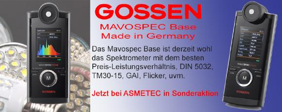 Gossen Mavospec Base Spektrometer