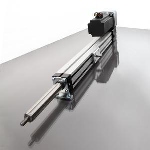 Der kompakte Schwerlastzylinder SLZ 63 besitzt ein ideales Einbau-Hub-Verhältnis und lässt sich flexibel in die unterschiedlichsten Anwendungen integrieren