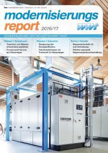 Titelbild Modernisierungsreport 2016/17