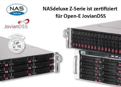 NASdeluxe Z-Serie Gruppenbild