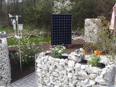 Solar Ideen Für Garten Solarzaun Solartisch Solarcarport Und Die