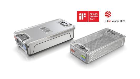 Aesculap gewinnt mit Containersystem AESCULAP Aicon® einen iF DESIGN AWARD / © Aesculap AG