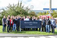 Werksbesichtigung im Mercedes-Benz Werk Kassel der Daimler AG