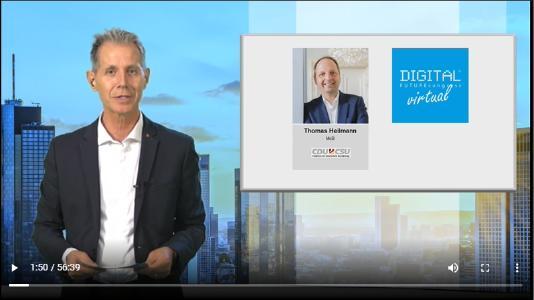 Interview mit Thomas Heilmann Mitglied des Deutschen Bundestages auf dem DFC virtual