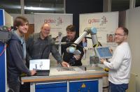 Lernen am virtuellen 3D-Modell und an der realen Anlage in der GDS2