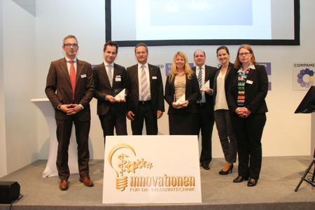 Die Preisträger des DeviceMed-Awards für Innovationen für die Medizintechnik 2015 (Fotohinweis: Vogel Business Media)
