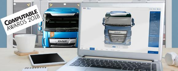 Computable Award for DAF 3D Online Truck configurator