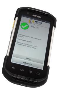 Die ALVARA Logistic App bildet eine intuitive Schnittstelle zwischen Anwender und Cloud.