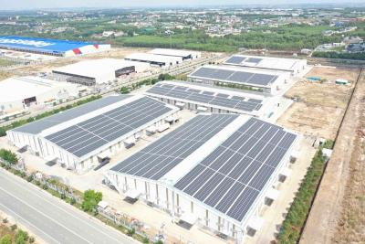 Gantner supplies to five large rooftop Solar power plants in Vietnam