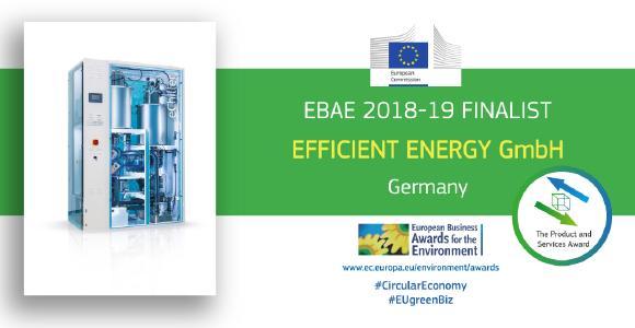 EBAE Finalist Efficient Energy