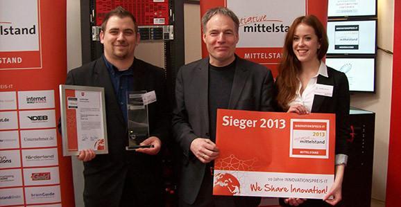 Skimpy®|Cloud-Entwickler Fabian Martin (links), Firmengründer Wolfgang Christmann (Mitte)
