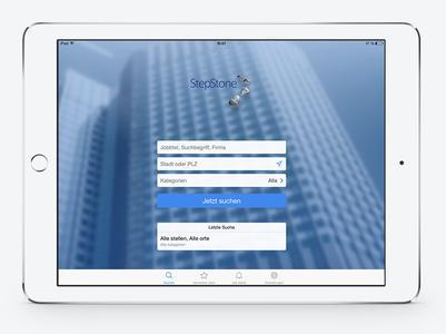 StepStone Tablet App 01