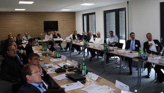 Am Energiesymposium nahmen Partner aus Industrie und Forschung teil.