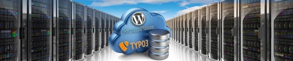 Content Management Systeme - individuelles CMS-Hosting, speziell für Typo3, WordPress und Online Shop Systeme
