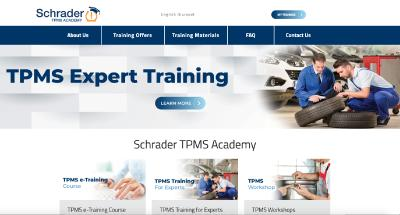 Schrader Introduces an Updated TPMS Educational Platform