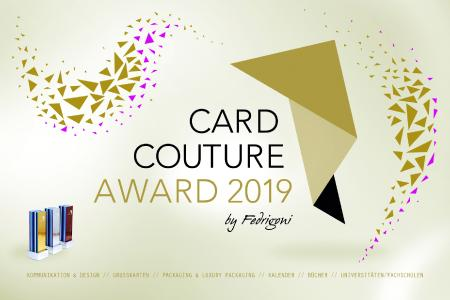 CARD COUTURE AWARD 2019 by FEDRIGONI
