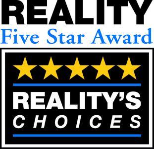 Reality 5 star Award Logo