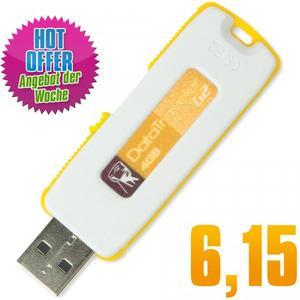 USB Stick 4GB Kingston DataTraveler G2 Yellow